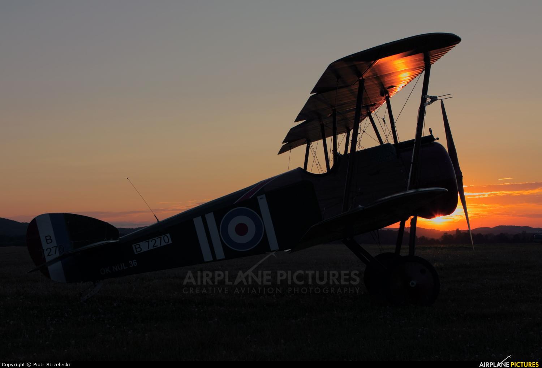 Letajici Cirkus OK-NUL 36 aircraft at Świebodzice