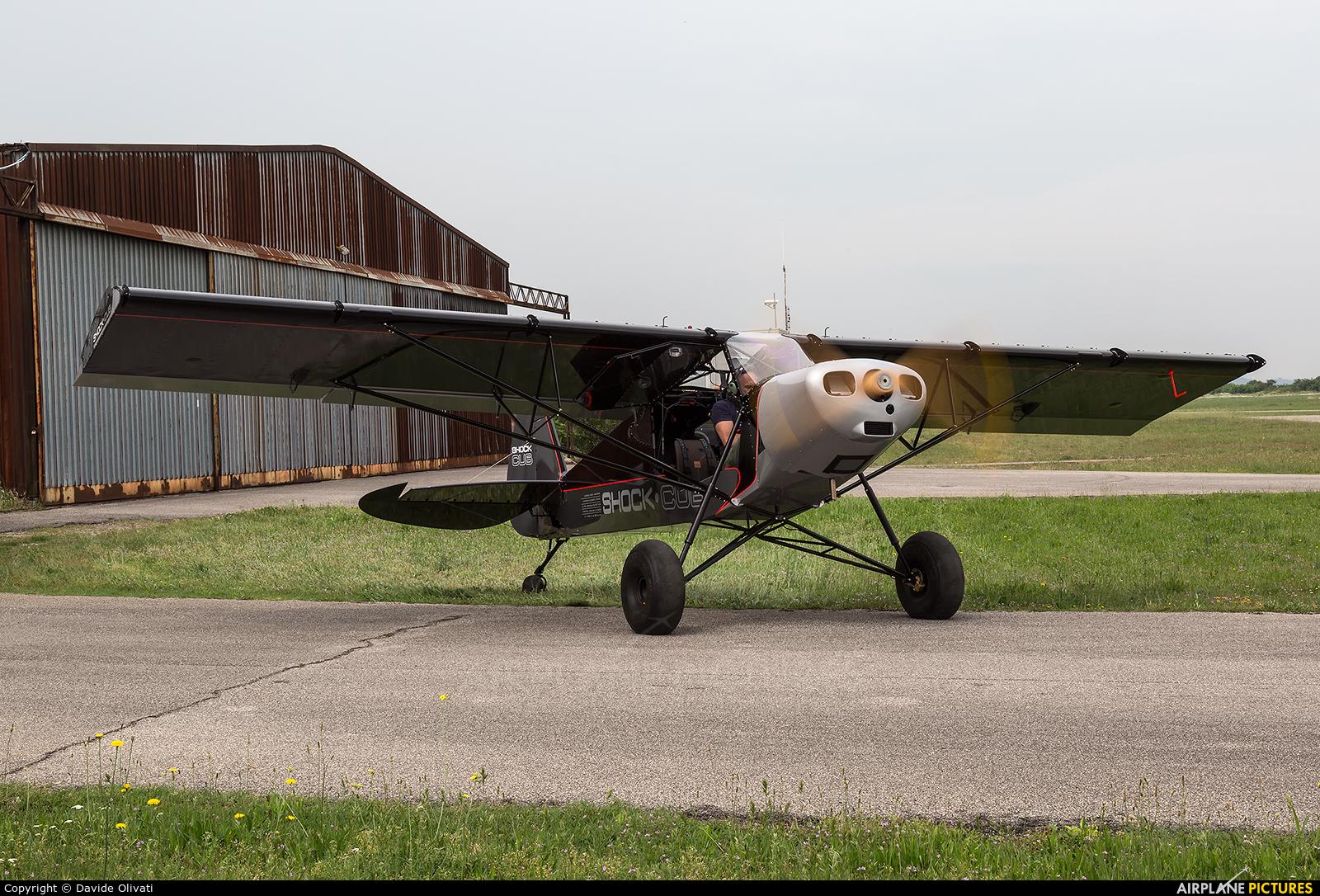 Private I-X000 aircraft at Verona - Boscomantico