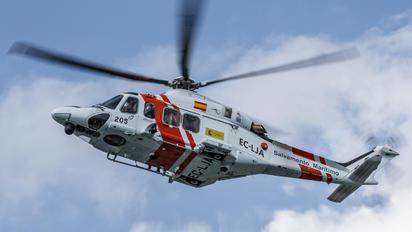 EC-LJA - Salvamento Marítimo Agusta Westland AW139