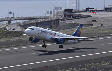 LY-SPH - Small Planet Airlines Airbus A320