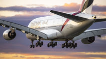 A6-EOX - Emirates Airlines Airbus A380 aircraft