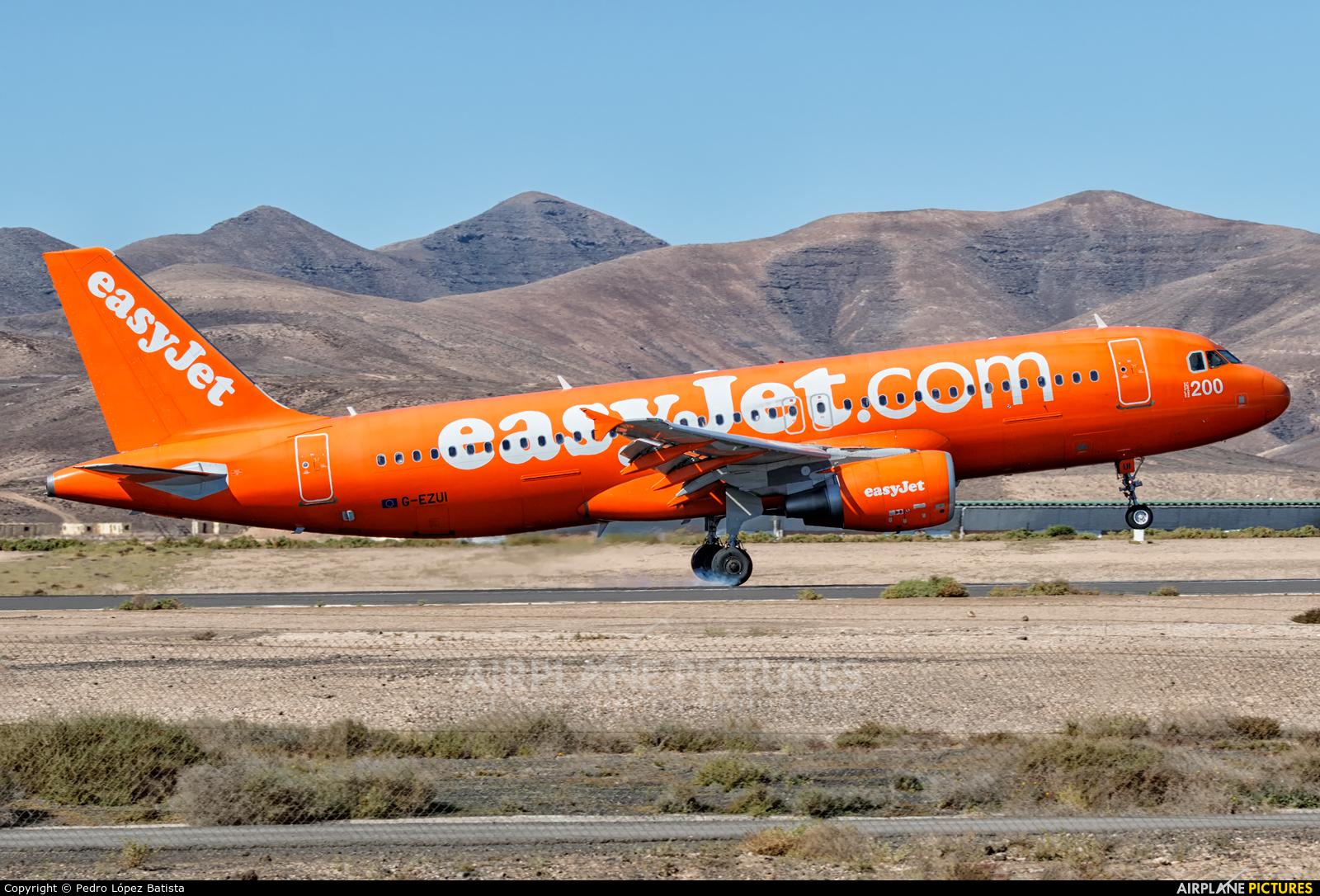 easyJet G-EZUI aircraft at Fuerteventura - Puerto del Rosario