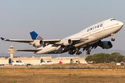 N116UA - United Airlines Boeing 747-400 aircraft