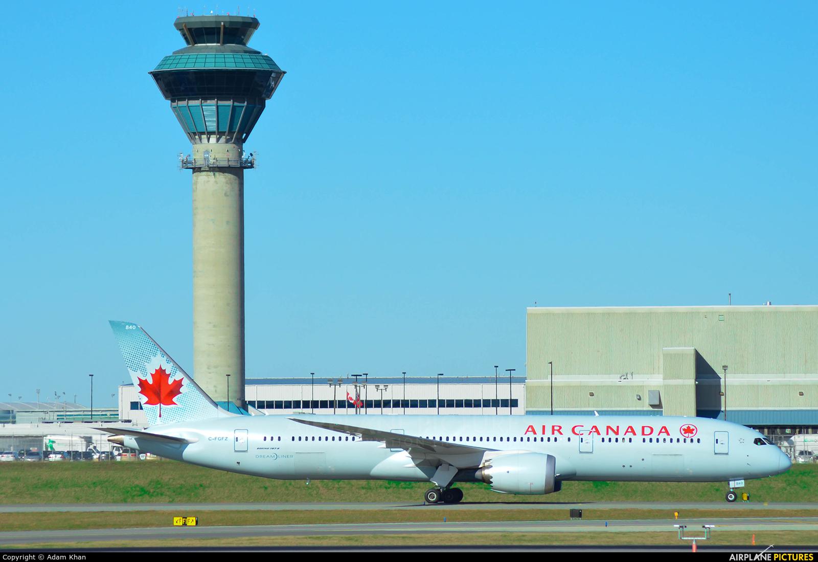 Air Canada C-FGFZ aircraft at Toronto - Pearson Intl, ON