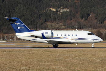 4X-CZI - Private Canadair CL-600 Challenger 600 series