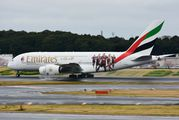 New special livery of Emirates A380 title=