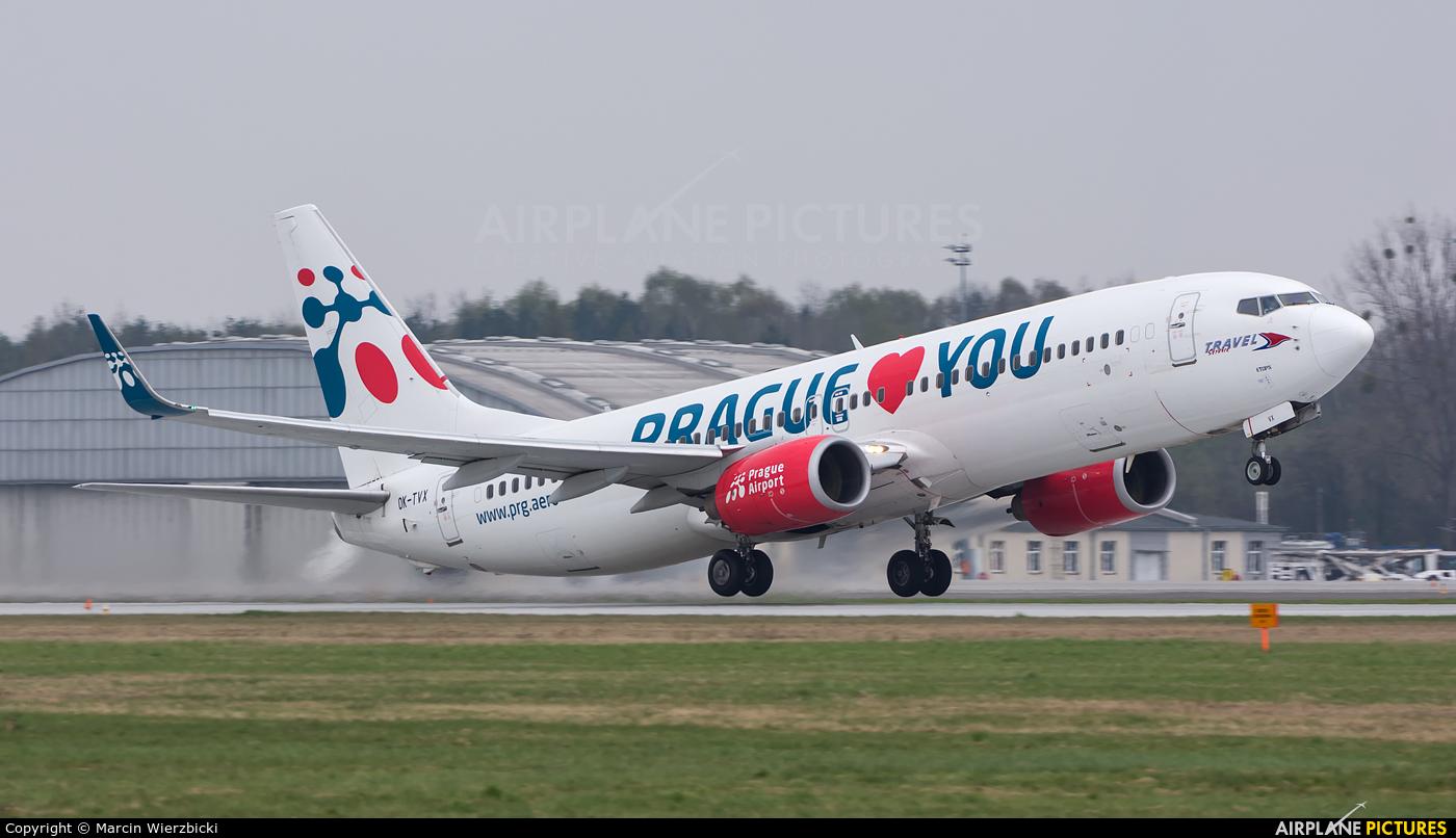 Travel Service OK-TVX aircraft at Katowice - Pyrzowice