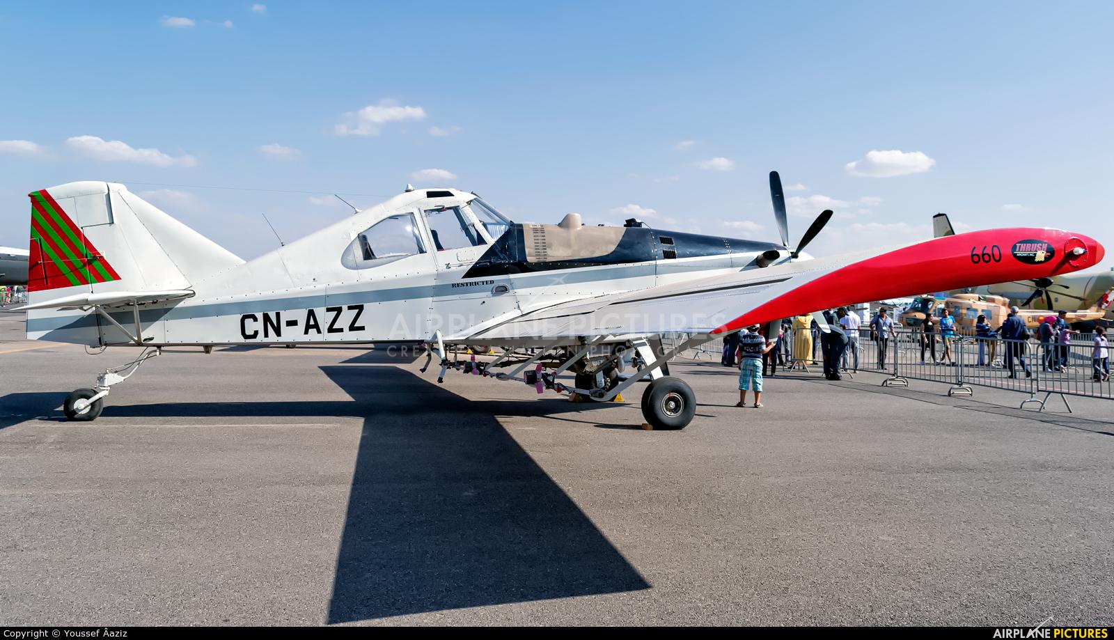 Morocco - Gendarmerie CN-AZZ aircraft at Marrakech - Menara
