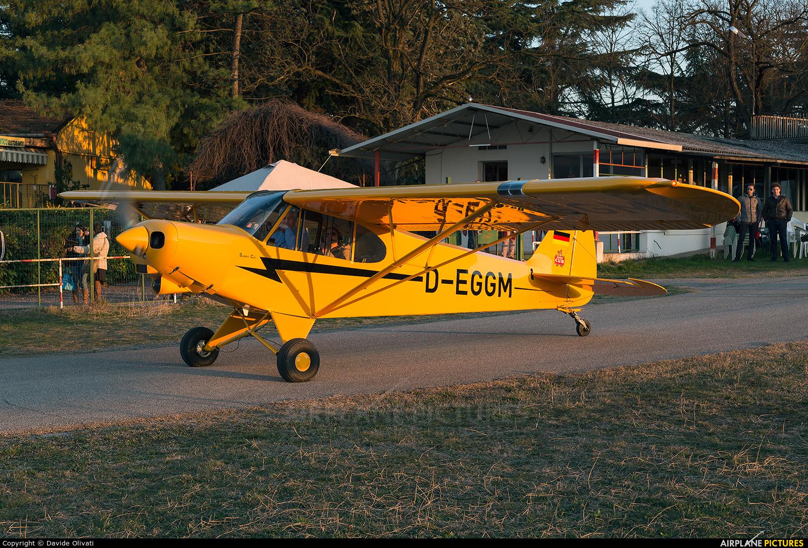 Private D-EGGM aircraft at Verona - Boscomantico