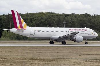 D-AIQD - Germanwings Airbus A320