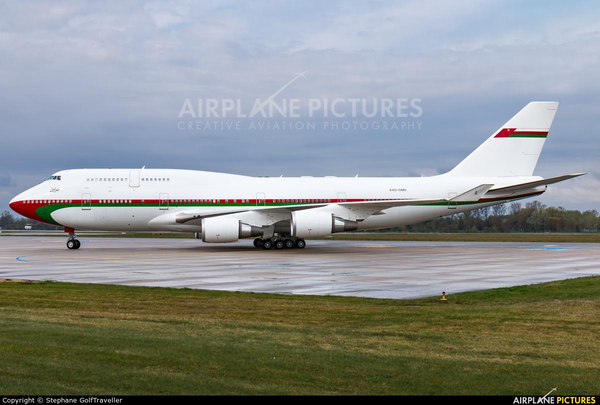Oman - Royal Flight A4O-OMN aircraft at Karlsruhe Baden-Baden
