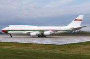 A4O-OMN - Oman - Royal Flight Boeing 747-400 aircraft