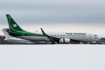 YI-ASU - Iraqi Airways Boeing 737-800