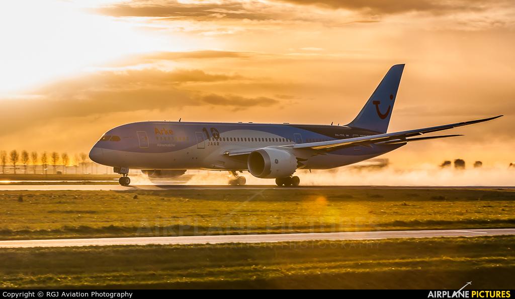 Arke/Arkefly PH-TFK aircraft at Amsterdam - Schiphol