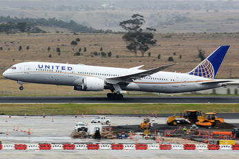 N19951 - United Airlines Boeing 787-9 Dreamliner