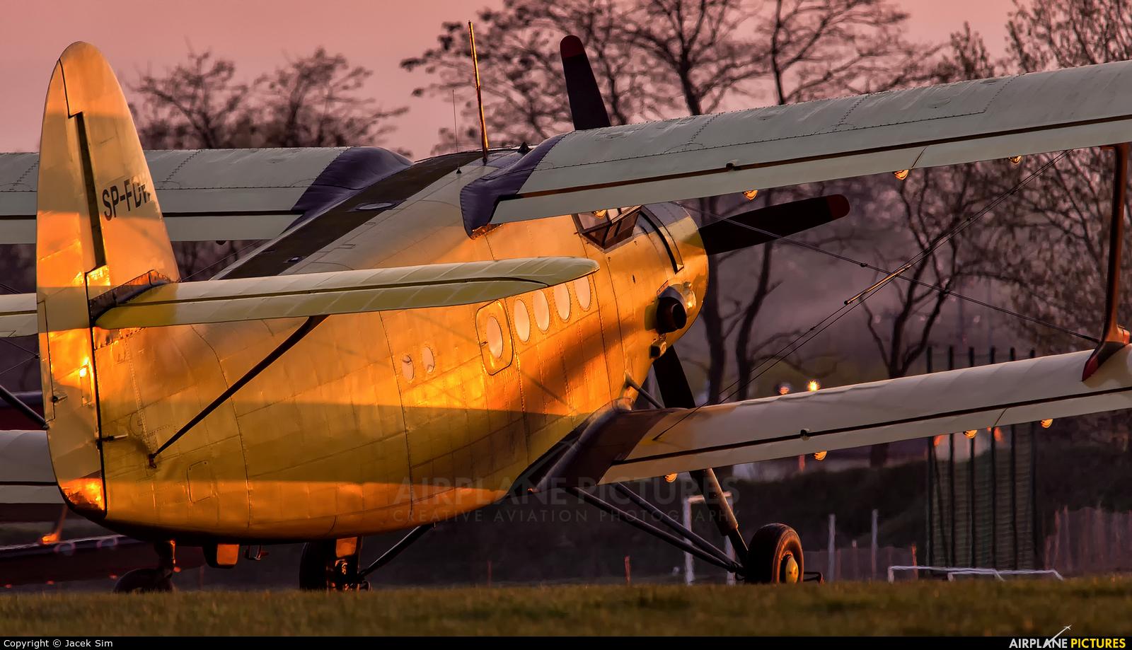 Aeroklub Bydgoski SP-FDW aircraft at Lublin Radawiec