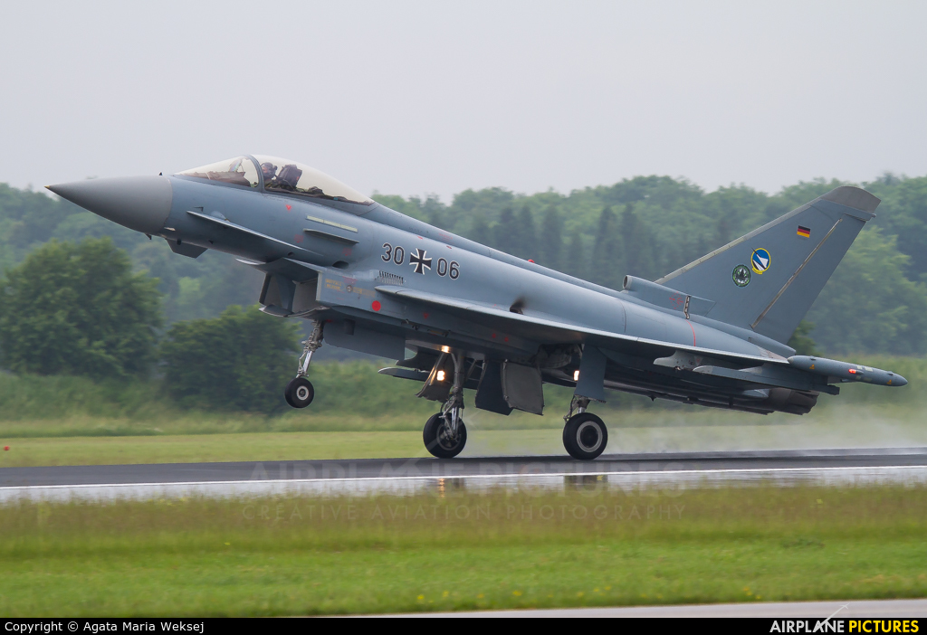Germany - Air Force 30+06 aircraft at Neuburg - Zell