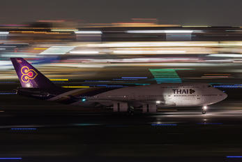 HS-TGF - Thai Airways Boeing 747-400