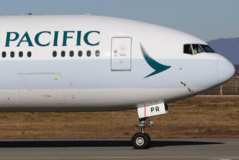 B-KPR - Cathay Pacific Boeing 777-300ER