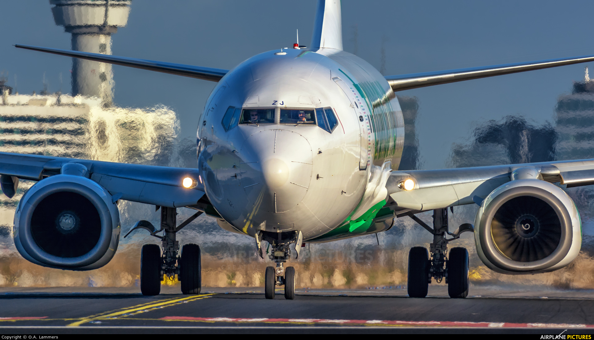 Transavia PH-HZJ aircraft at Amsterdam - Schiphol