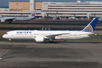 N15969 - United Airlines Boeing 787-9 Dreamliner