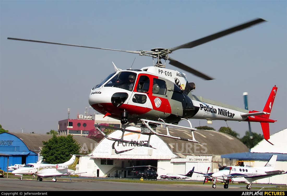 Polícia Militar do Estado de São Paulo PP-EOS aircraft at São Paulo - Campo de Marte