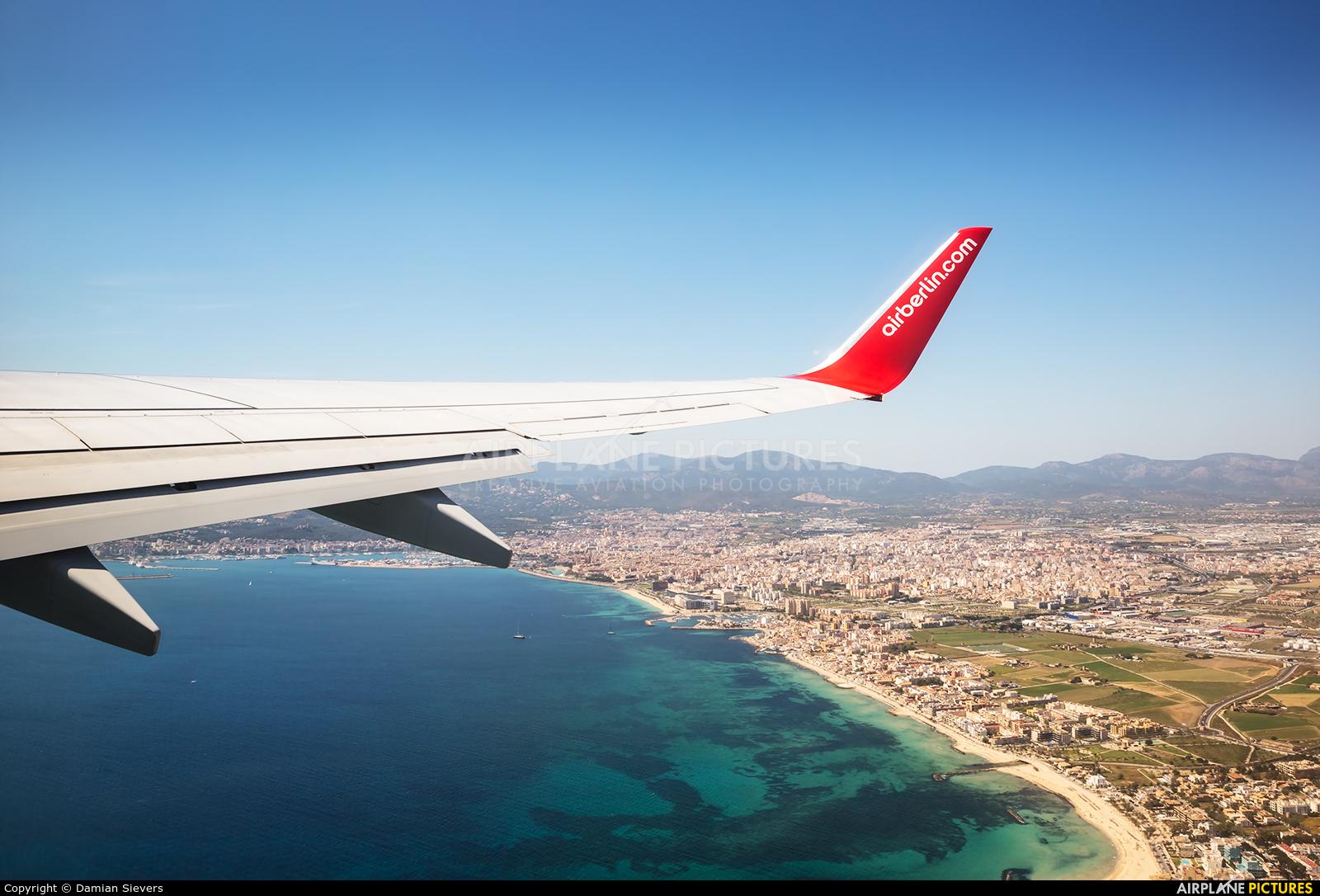 Air Berlin D-ABKN aircraft at Palma de Mallorca