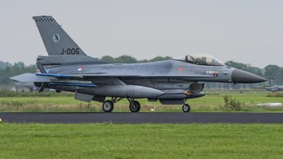 J-006 - Netherlands - Air Force Lockheed Martin F-16AM Fighting Falcon