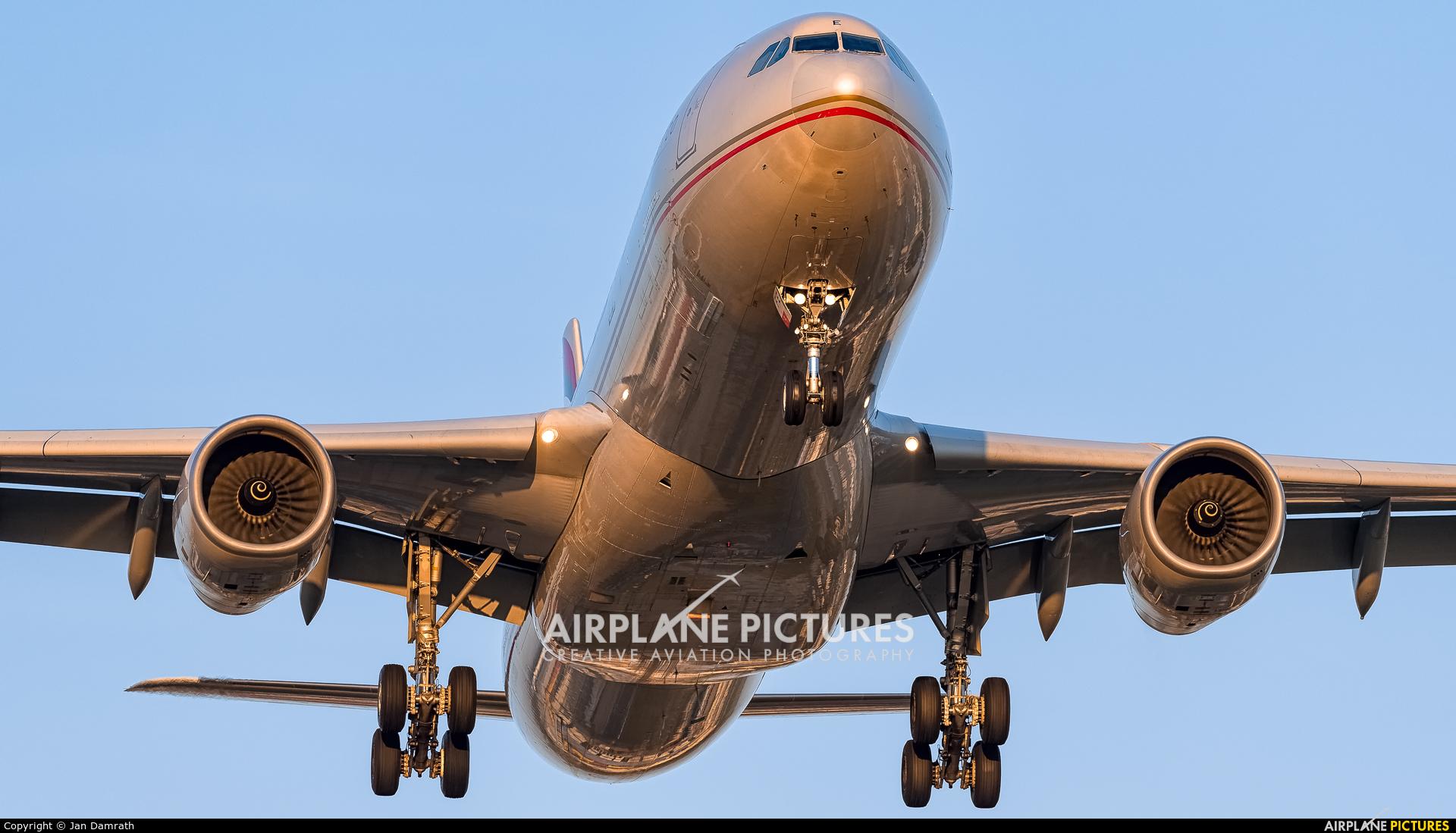Etihad Airways A6-AFE aircraft at Frankfurt