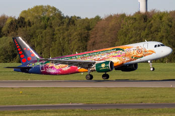 OO-SNF - Brussels Airlines Airbus A320