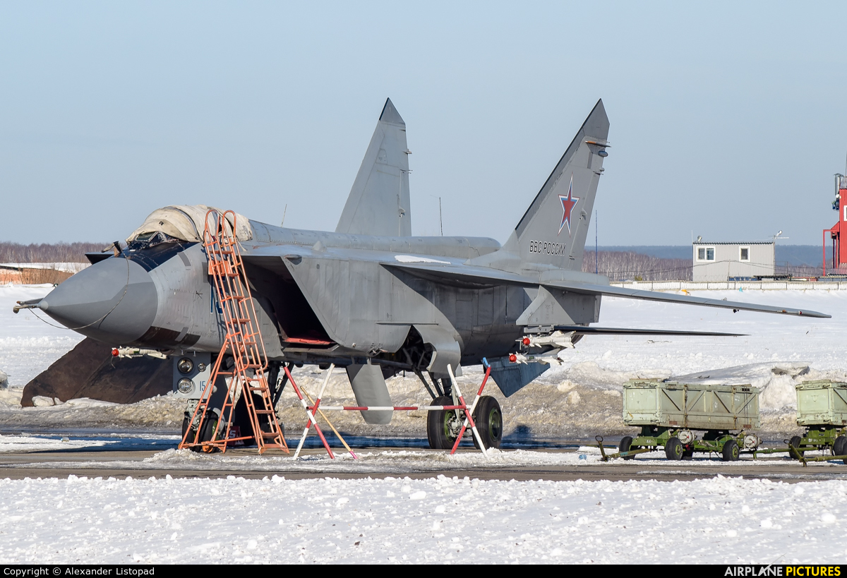 Russia - Air Force 15 BLUE aircraft at Novosibirsk