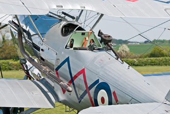 G-BTVE - Demon Displays Hawker Demon