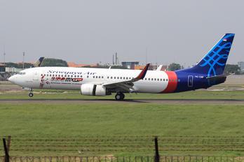 PK-CMF - Sriwajaya Air Boeing 737-800