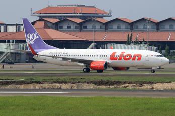 PK-LKV - Lion Airlines Boeing 737-900ER