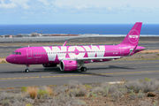 TF-NEO - WOW Air Airbus A320 NEO aircraft
