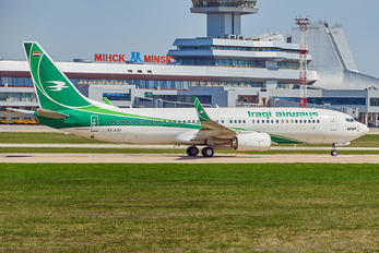 YI-ASI - Iraqi Airways Boeing 737-800
