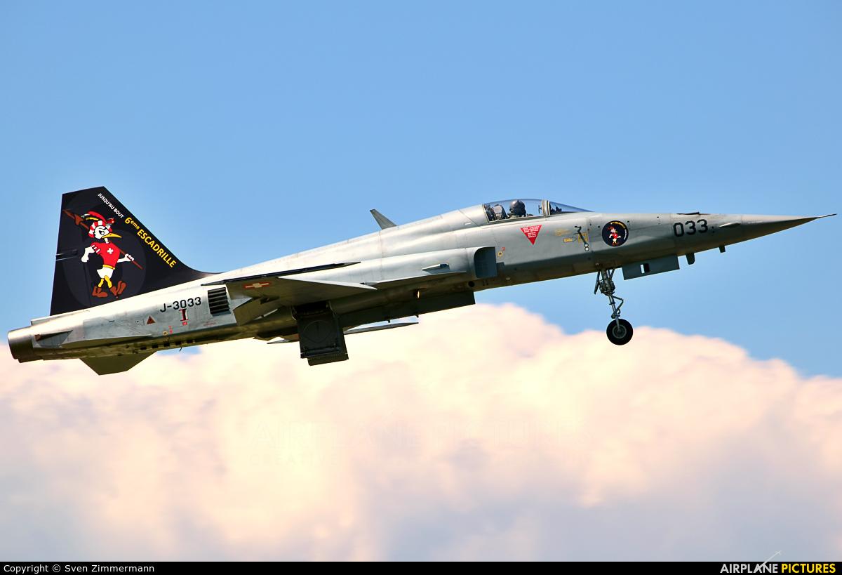 Switzerland - Air Force J-3033 aircraft at Payerne