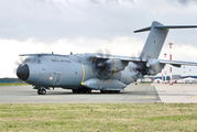 Rare visit of Airbus A400M to Linz title=