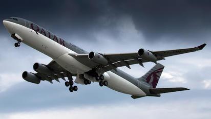 A7-AAH - Qatar Amiri Flight Airbus A340-300