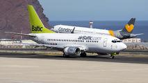 YL-BBM - Air Baltic Boeing 737-500 aircraft