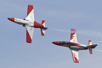E.25-34 - Spain - Air Force : Patrulla Aguila Casa C-101EB Aviojet