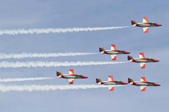 E.25-12 - Spain - Air Force : Patrulla Aguila Casa C-101EB Aviojet