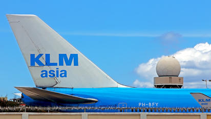 PH-BFY - KLM Asia Boeing 747-400