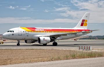 EC-LEI - Iberia Airbus A319