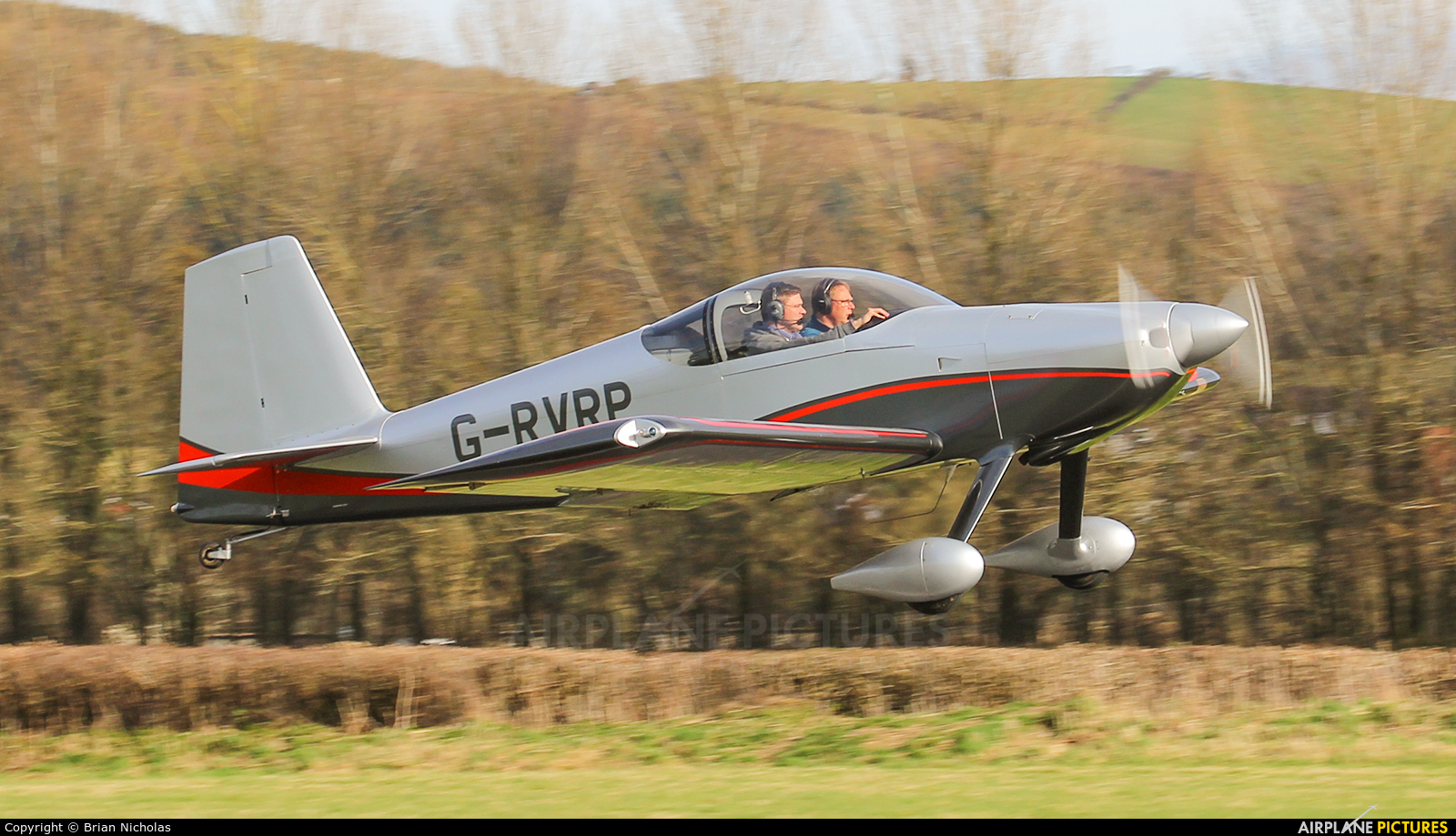 Private G-RVRV aircraft at Welshpool