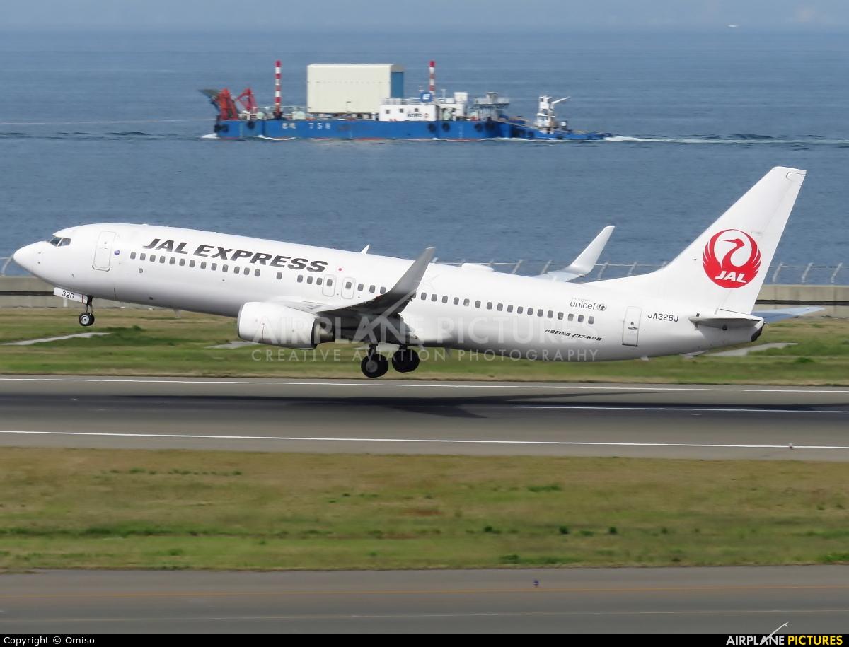 JAL - Japan Airlines JA326J aircraft at Chubu Centrair Intl