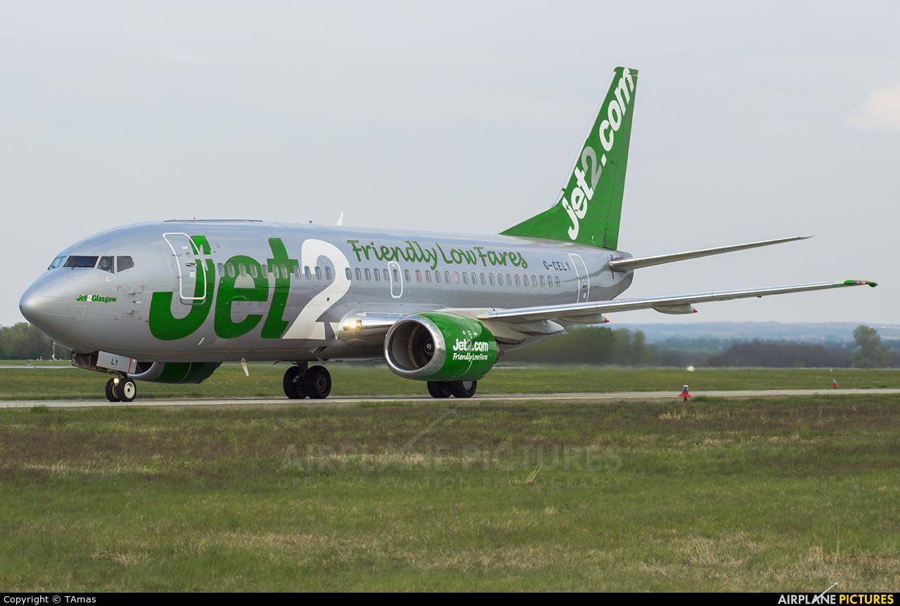 Jet2 G-CELY aircraft at Budapest - Ferihegy