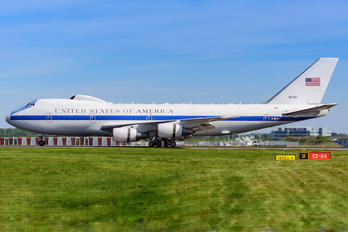 74-0787 - USA - Air Force Boeing E-4B