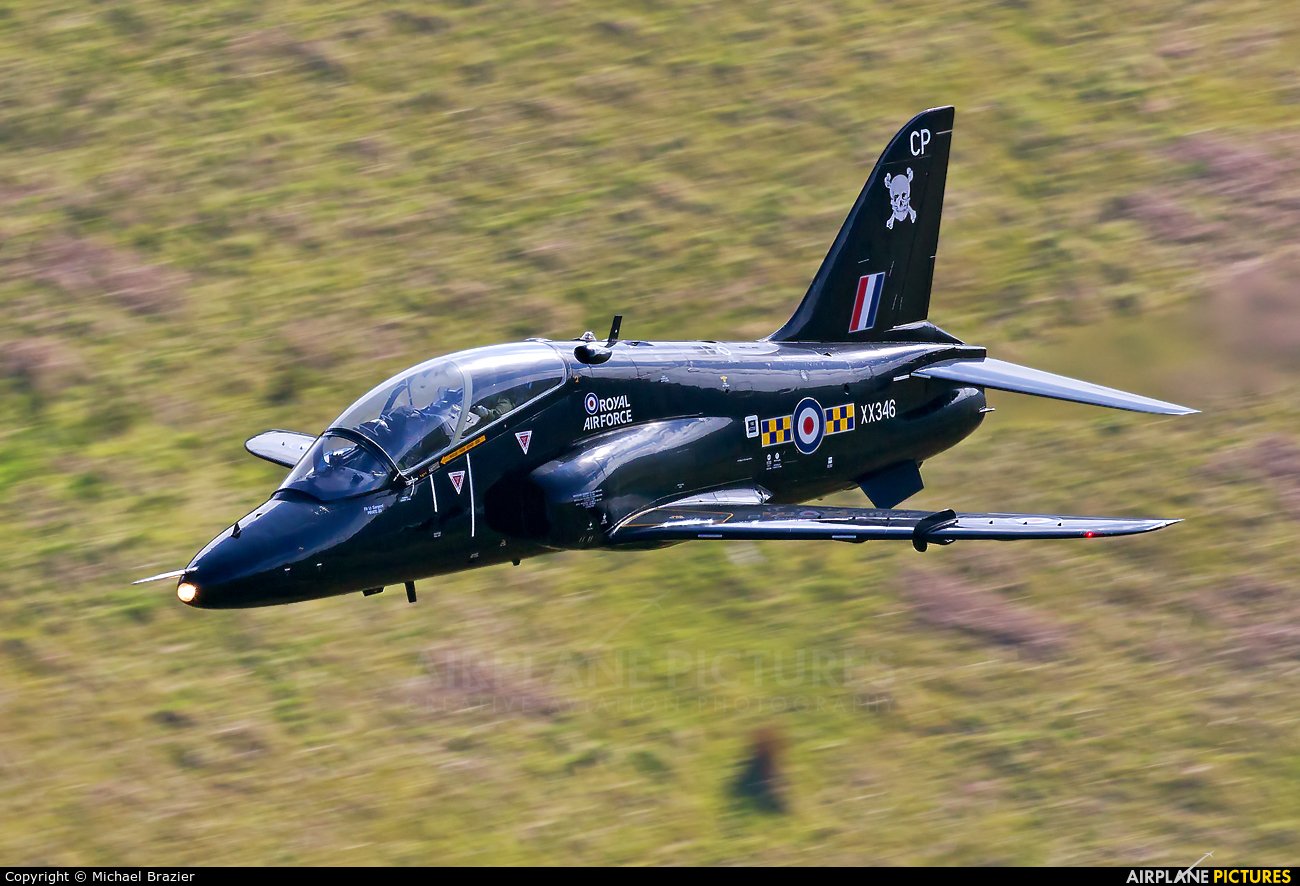 Royal Air Force XX346 aircraft at Machynlleth Loop - LFA 7