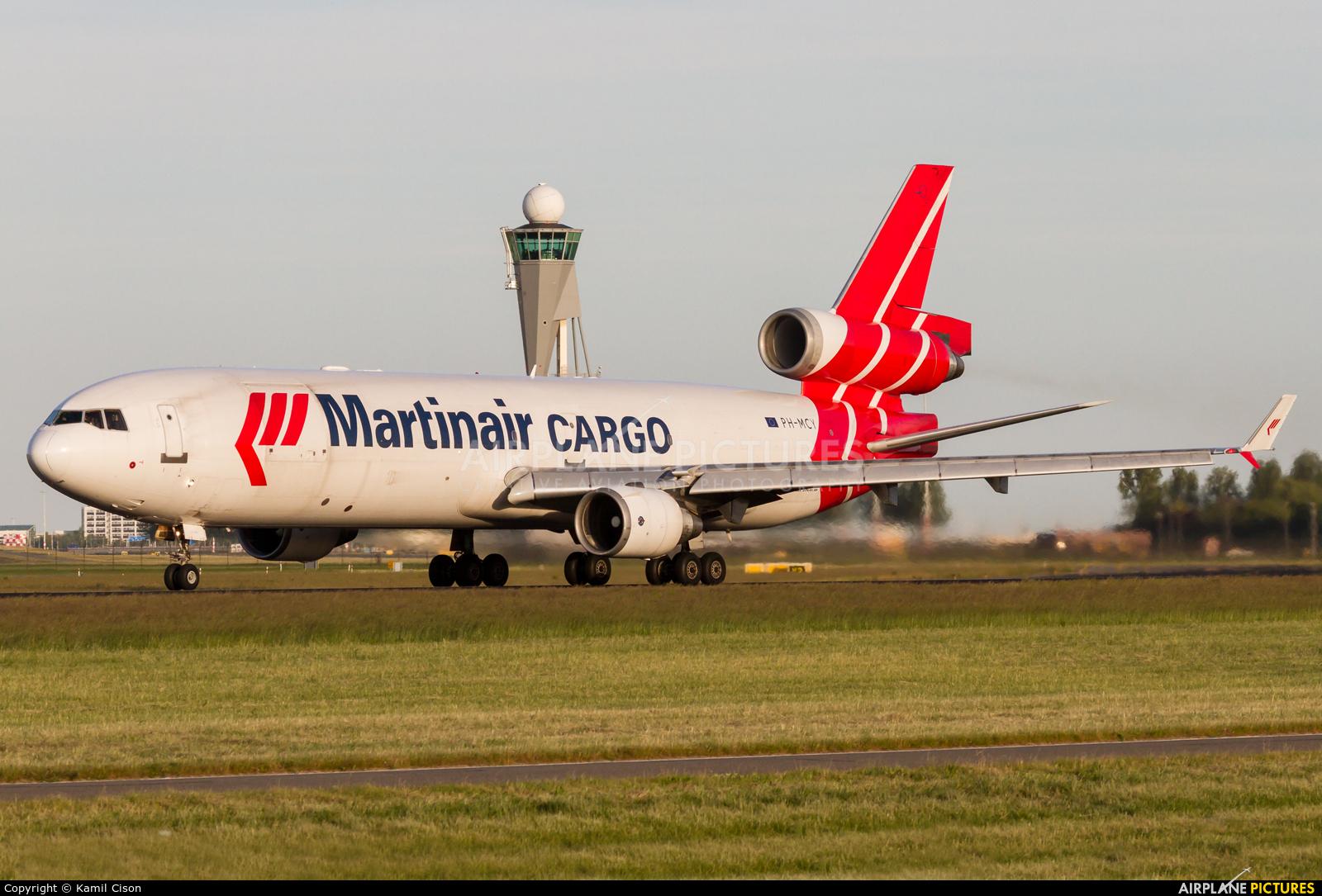 Martinair Cargo PH-MCY aircraft at Amsterdam - Schiphol